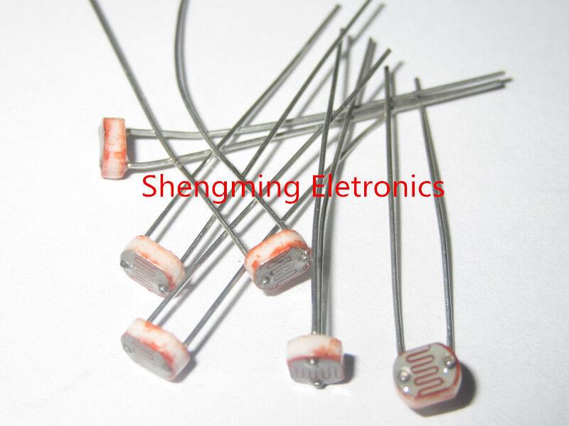 100PCS Photo Light Sensitive Resistor Photoresistor Optoresistor 5mm GL5516 5516