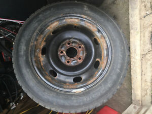 Used Winter Tires on Rims