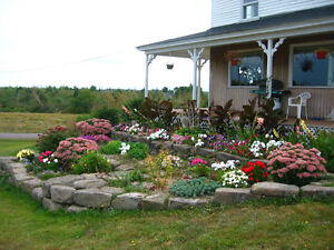 Stones, Rock, Blocks, Patio, Flower Bed Garden Landscaping