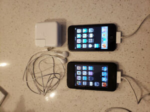 iPod Touch and iPod Touch 2nd Gen - Excellent Condition