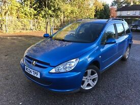 PEUGEOT 307 DIESEL ESTATE spares or repair