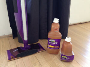 New Swiffer Wet Jet Mop for Hardwood Floors!  Great Condition!
