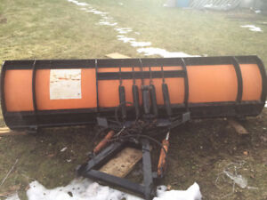 8ft Heavy duty snow plow with Arctic pump, Harness