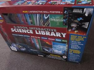 Britannica Interactive Science Library 6-Volume Box Set with Pen Kitchener / Waterloo Kitchener Area image 4