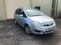 Vauxhall Zafira 1.6 (7 Seater) 2008MY Exclusive