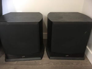 Two 15 inch Soundstage Home Theatre Subwoofers