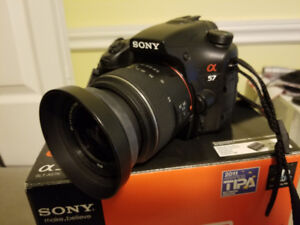 Sony A57 and Gear - Full meal deal :) - $400!