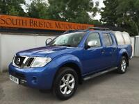 2012 12 NISSAN NAVARA 2.5 dCi TEKNA D/CAB PICK UP 1 OWNER ONLY 55K FSH +NO VAT+