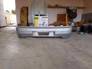 Gc8 jdm smooth rear bumper with spats