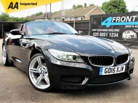 2015 BMW Z4 2.0 SDRIVE 20I M SPORT MANUAL ROADSTER CONVERTIBLE PETROL