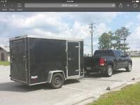 Truck & Enclosed Trailer
