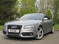 2011 Audi A5 3.0 TDI Black Edition Coupe 2dr Diesel S Tronic Quattro (174