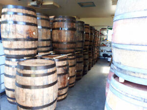 LOOK >>  220 x Oak Bourbon Barrels & 90 x Oak Wine Barrels