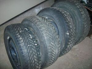Used Winter tires Sets Pairs and Singles Most on rims LOOK!!!!!