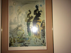 Dali signed lithograph