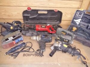 Assorted Complete Power Tool Set