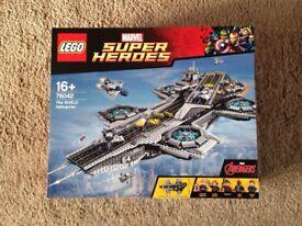 Lego Superheroes UCS Helicarrier 76042 New