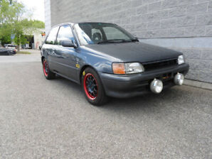 1990 Toyota Starlet FWD For Sell, 100270 kms