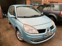 2008 Renault Scenic 1.6L DYNAMIQUE VVT 5d 111 BHP MPV Petrol Manual