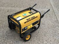 Wolf POWER WP3501LR Generator - Petrol - 7HP - Excellent Condition