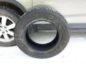 Used one season 4 Avalanche Extreme winter tires