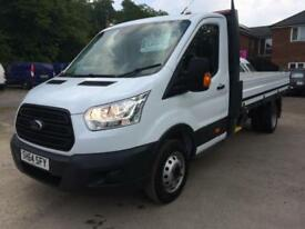 Ford Transit 350 2.2 TDCI 125 BHP DRW,LWB DROP SIDE,NEW SHAPE
