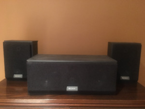 Sony Surround Speakers - Rear and Center
