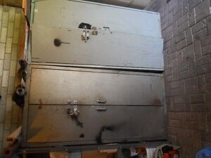 2 METAL CABINETS