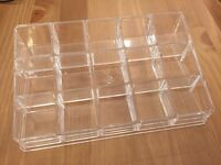 Acrylic Case for Nail Polish or Lipstick