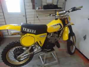 Yamaha YZ 465 1981