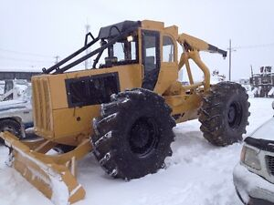 Re-Built Clark 667C Logging Skidder