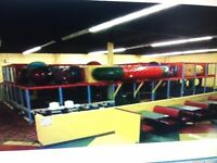 GIANT 1000 SQ FT INDOOR PLAYGROUND
