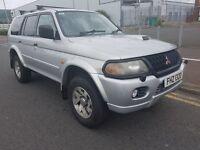 2004 Mitsubishi Shogun Sport. Full year mot. 4x4