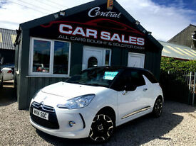 CITROEN DS3 1.6 VTI ( 120bhp ) DSTYLE PLUS LOW MILEAGE VGC FINANCE & PARTX ARRAN