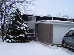 3 level townhouse with open concept and yard London Ontario image 1