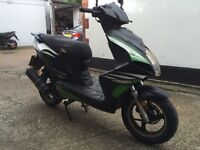 2012 Phantom 125cc learner legal 125 cc scooter. Looks and runs good. Will have MOT today 1 year.