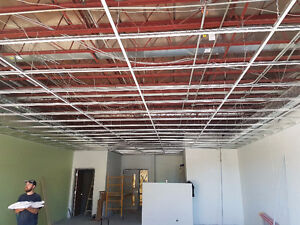 Suspended ceiling (T-bar ) Installation
