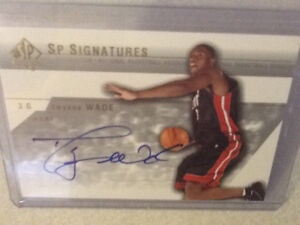*WOW* SP AUTHENTIC SIGNATURES ROOKIE CARD OF DWAYNE WADE London Ontario image 1