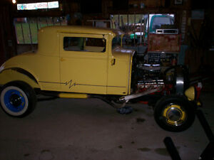 1931 Essex Super Six, 3 Window Coupe.