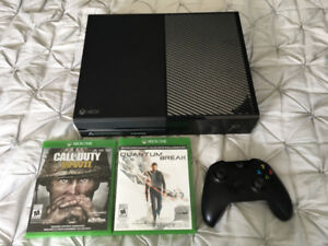 Xbox One 500Gb Used like New - 2 Games - 1 Controller