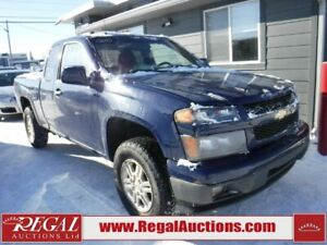 2010 Chevrolet COLORADO  2D EXT CAB 4WD