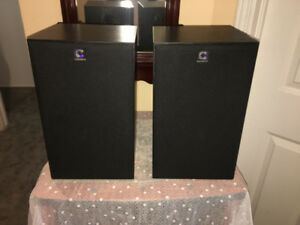 Highly Reviewed Clements Bookshelf Speakers106di