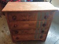 Solid wood refinished dresser-Reduced!