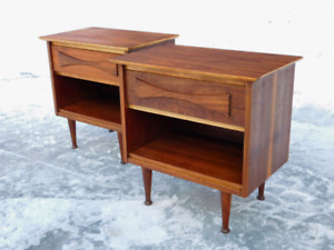 Vintage Mid century Beautility Night End tables