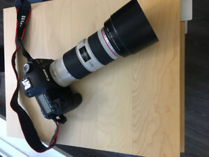 Canon 5D Mark II 2 & Canon EF 70-200 f/4L IS USM Lens plusEXTRAS