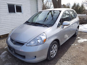 2007 HONDA FIT HATCHBACK CERTIFIED & E-TESTED