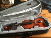 Childs 1 /4 size violin