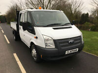 2013 13 FORD TRANSIT TIPPER 2.2TDCi 125BHP EURO 5 350 LWB ONLY 23000 MILES