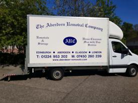Aberdeen Removals - Man with van service - Waste disposal. Sofa