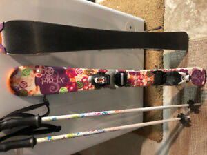 Children's Skis and poles